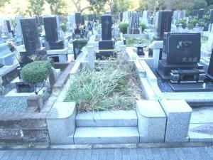 横須賀市営霊園墓石追加工事