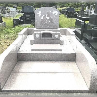 ピンク系御影石(普通墓地タイプ)