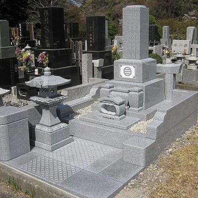 白御影石(普通墓地タイプ)